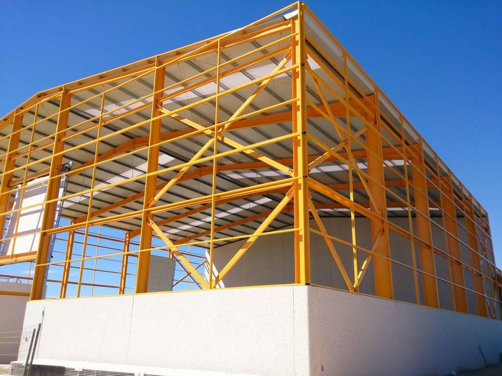 Construcciones de estructuras met licas cartago algunas - Estructuras metalicas murcia ...