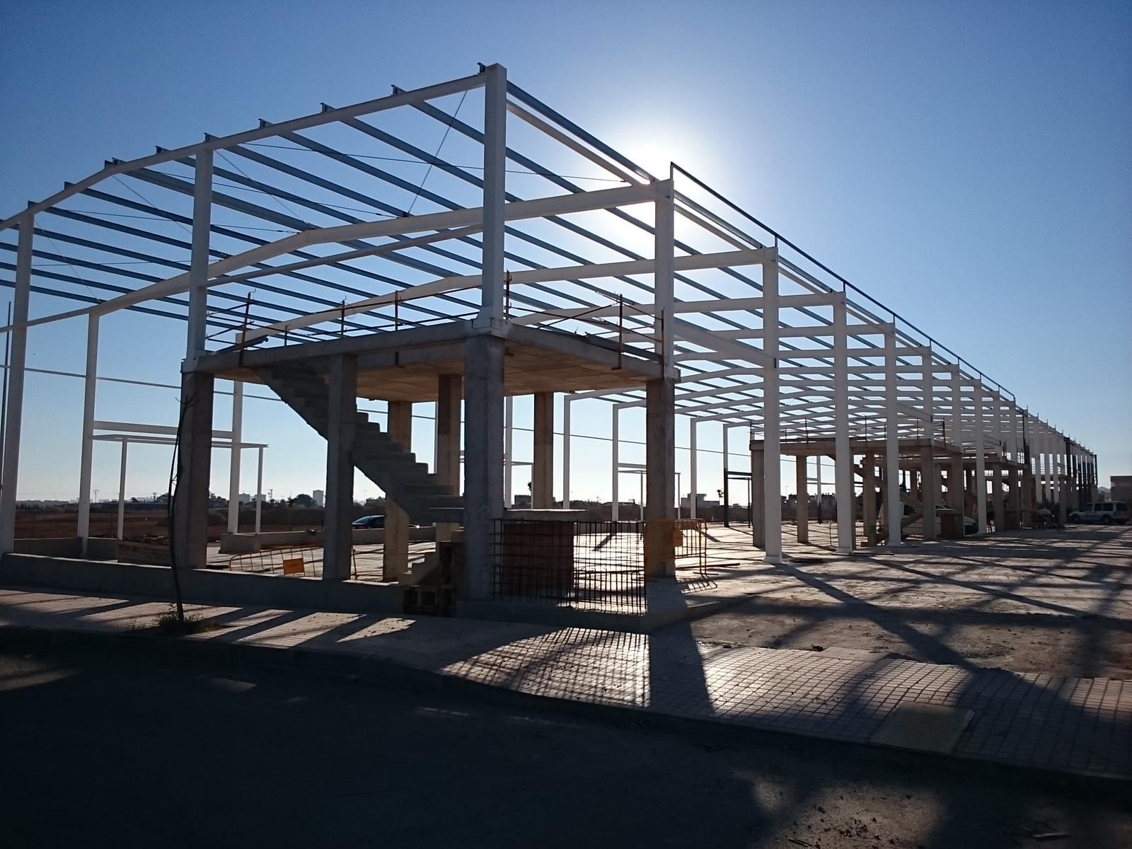 Construcciones de estructuras met licas cartago algunas for Construcciones industriales